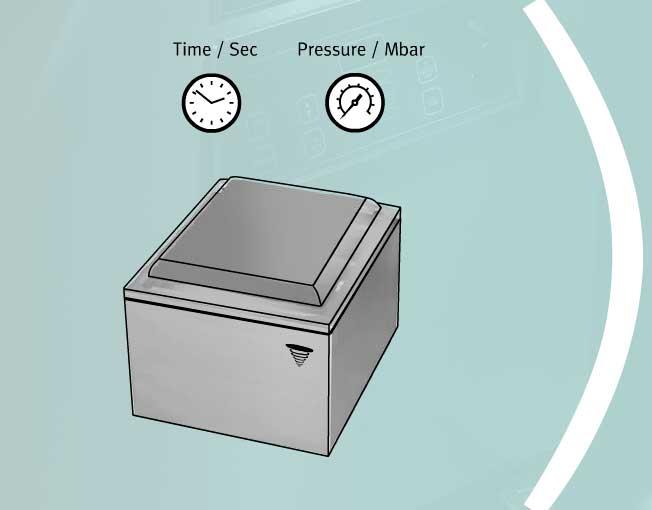 Автоматическое вакуумирование упаковщика