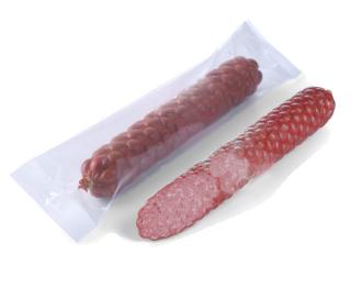 Вакуумная упаковка колбасы